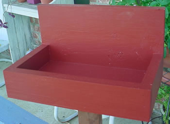 Great attractive nesting box for cardinals cardinals will not nest