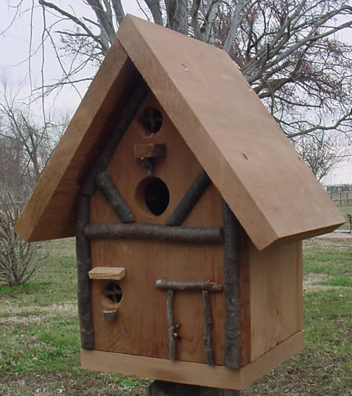 Forest Lodge Bird House