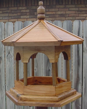 Bird Houses by Mark - Gazebo Bird Feeder